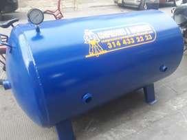 Pulmón para Compresor Mina de Carbón