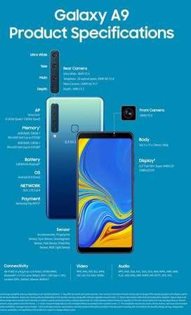 Remato Samsung A9 casi nuevo con caja