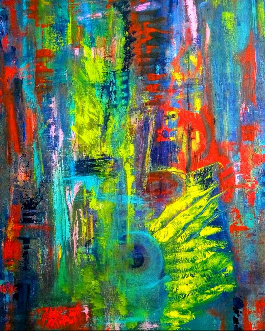 Cuadros - Pinturas (acrílico sobre lienzo)