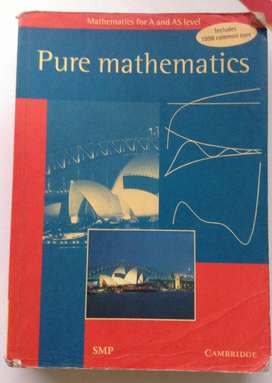 Pure Mathematics Cambrigde