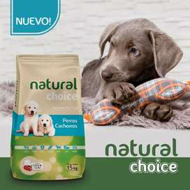 Natural choice cachorros x15kgrs