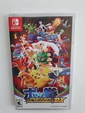 Pokemon Pokken Tournament Nuevo y Sellado Nintendo Switch