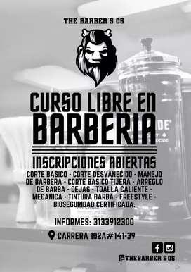 Curso libre de barbería
