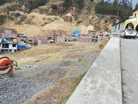Venta de lote de terreno en Bellavista Huaraz