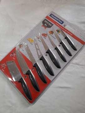 Juego de cuchillos Tramontina 8 piezas