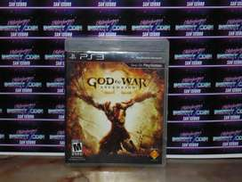 God of War Ascension Juego PS3 Play Station 3
