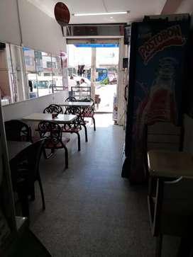 Vendo cafetería ubica en bosa estación