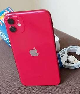VENDO IPHONE 11 128GB LIBRE DE FABRICA SE PUEDE USAR EN CUALQUIER OPERADOR.