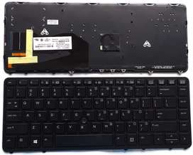 Teclados HP EliteBook 740 G1, 745 G2, 750 G1, 755 G2, 840 G1, 850 G1, HP Zbook 14
