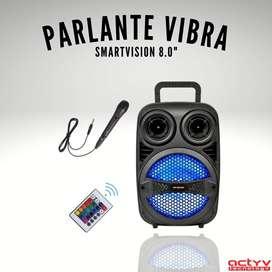 """Parlante SmartVision Vibra 8"""""""