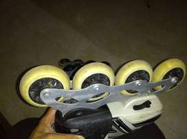 Patines Canariam Speed Bolt negros