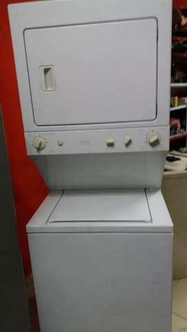 Torre lavadora secadora