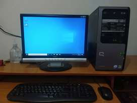 Computador completo core 2 duo con tarjeta de video 1gb