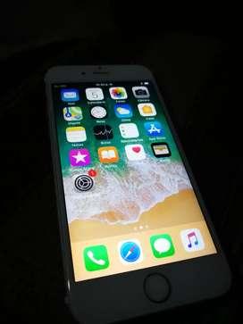Vendo Iphone 6s de 16 GB libre de todo con cargador