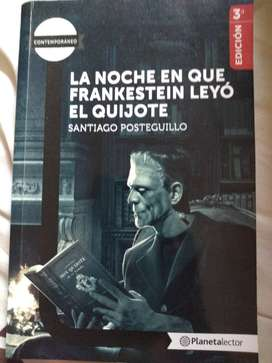 La noche en que Frankestein leyó el Quijote