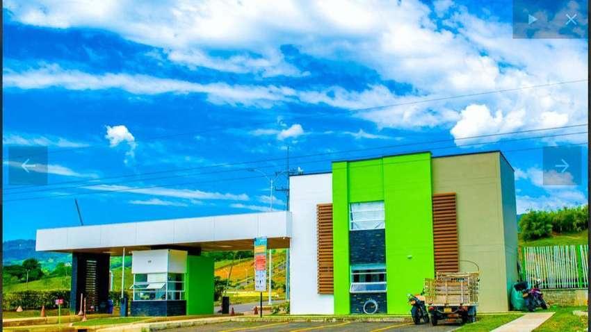 Lote en hermoso condominio  BRISAMAR campestre 240 m2 Listo para construir,  Viterbo Caldas
