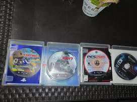 Cd's de play station 3 exelente estado