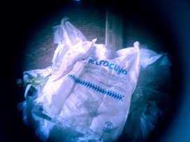 Bolsones Big Bag de un solo uso,con valvula de escape.