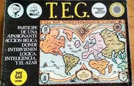 TEG (YATEM) plan táctico estratégico de guerra