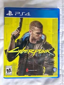 Cyberpunk 2077 ps4 como nuevo