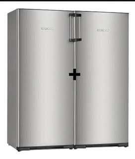 Heladera Kohinoor c/ freezer SIDE by SIDE