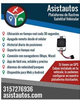 Plataforma de rastreo satelital vehicular GPS  -  ASISTAUTOS