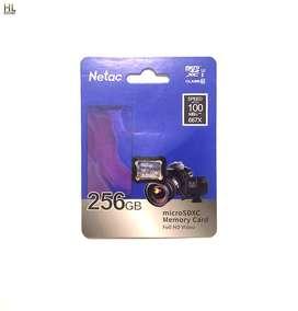 memoria micro sd 256 gb clase 10 compatible camaras consolas de videojuegos, celulares