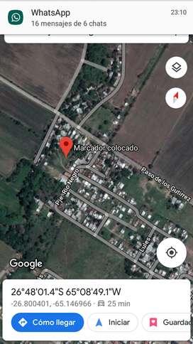 VENDO TERRENO EN LOS GUTIERREZ ALDERETE FORMAS DE PAGO