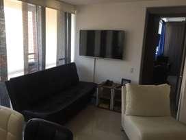 Apartamento amoblado en venta