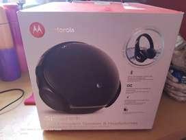 Vendo Motorola sphere & headphones