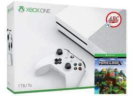 Xbox One S 1tb Minecraft ! Promocion ! Envio Gratis