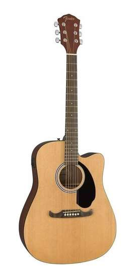 tentadora guitarra jumbo fender ce125