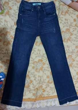 Jeans bota ancha marca derek talla 6