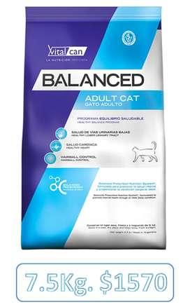 Balanced Gato Adulto 7.5 Kg. (Vital Can)