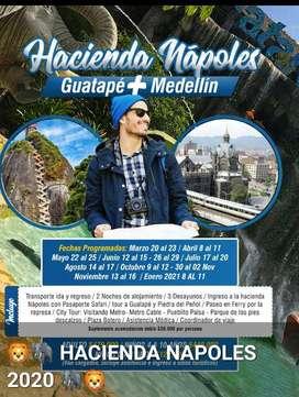 HACIENDA NAPOLES-GUATAPE Y MEDELLIN