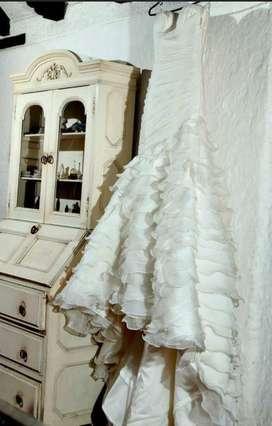 Vestido de novia marca Pronovias