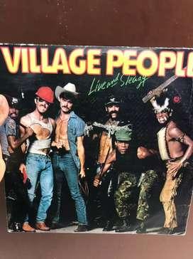 Lp Doble Vinilo Acetato village People 2 Discos