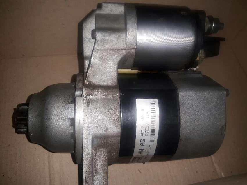 Burro Motor de Arranque Vw Gol Trend Fox 0