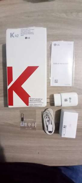LG k42 nuevo