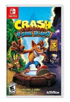 Crash Bandicoot N Sane Trilogy / Nintendo Switch