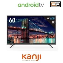 Smart TV LED 60″ Kanji UHD 4K Android NUEVO!!!