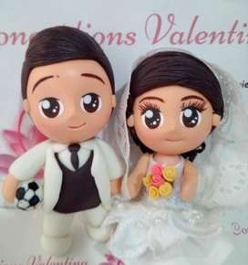 Muñecos torta matrimonio