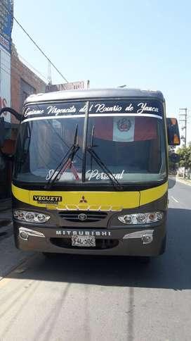 Venta de bus, Marca mitsubishi, modelo galaxi 1,