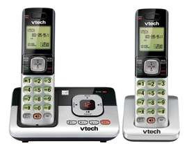 Telefono inalambrico doble contestador vtech Cs6829-2