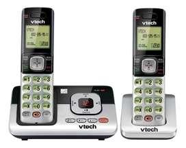 Telefono inalambrico doble contestador vtech Cs6829-2