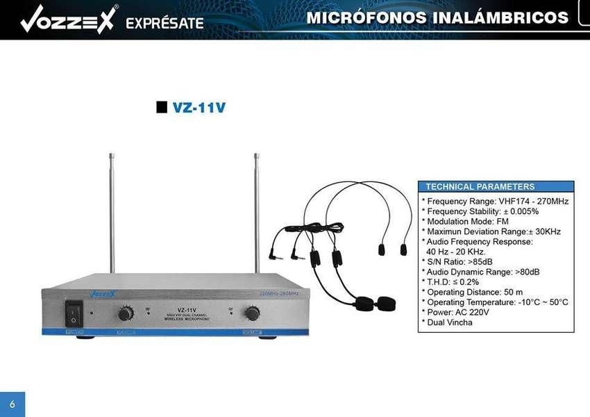 SENSACIONAL MICROFONO INALAMBRICO VZ-11V 0