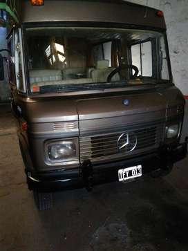 Motorhome mercedes Benz 608 D turbo 1986