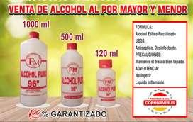 VENTA DE ALCOHOL 96