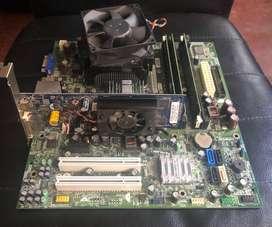 Combo Board, Procesador, Memorias ram y Tarjeta de video