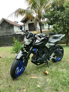Venta de moto yamaha mt 03 cilindraje 320 2017 valor 13 500 000